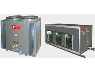 天加风冷管道式空调机组